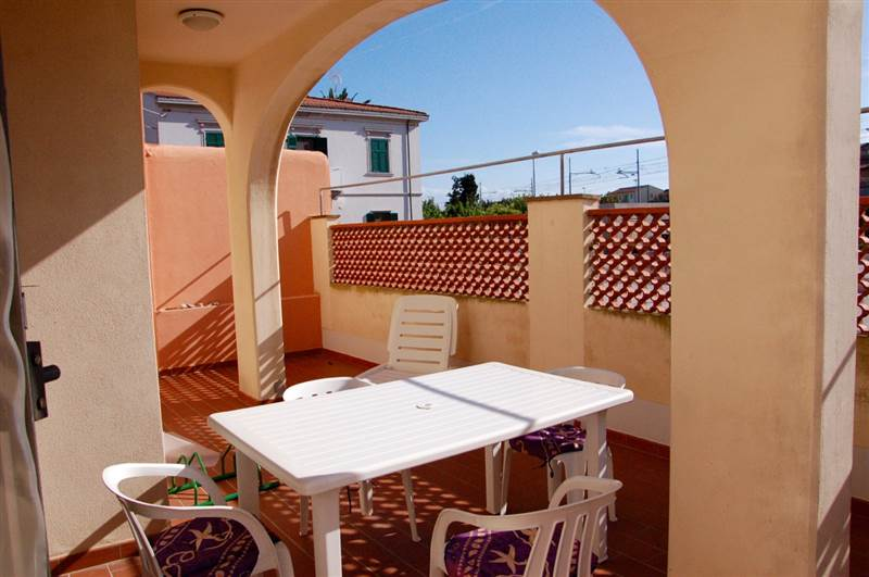 San Vincenzo (LI) - Bilocale 4/5 posti letto - piano terra con spazio esterno  privato