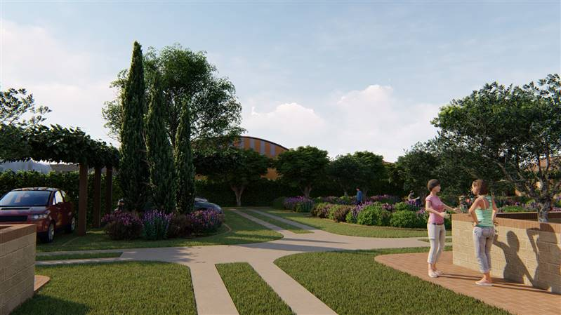 Venturina Terme (LI) - Nuovi appartamenti con giardino privato.