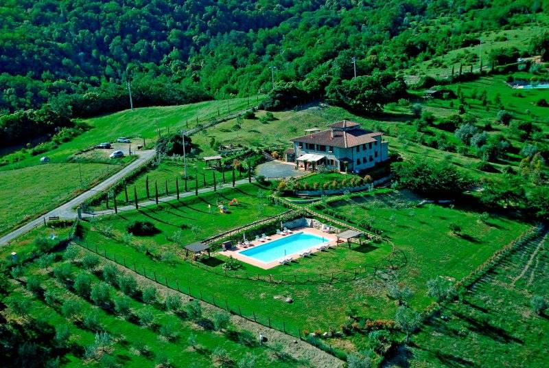 Tuscany - Montecatini Val di Cecina (PI) - Country house with apartments