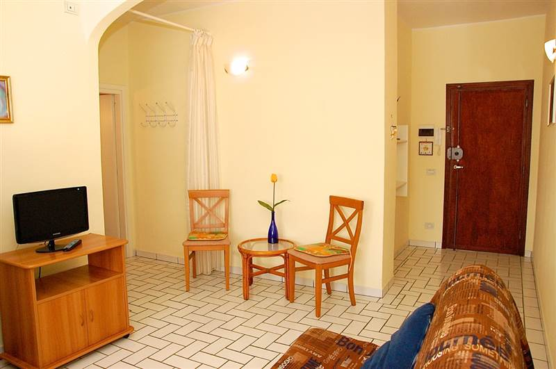 Two-roomed apartment close to the beach