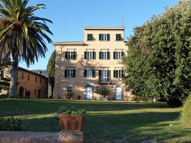 Campiglia Marittima (LI) - Villa padronale con parco
