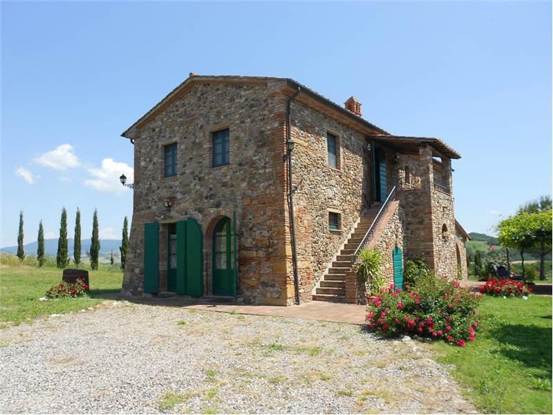 Montescudaio (PI ) - Steinhaus in  der Toskana