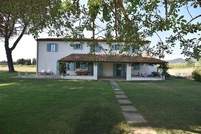 Castagneto Carducci (LI) - Bauernhaus mit park